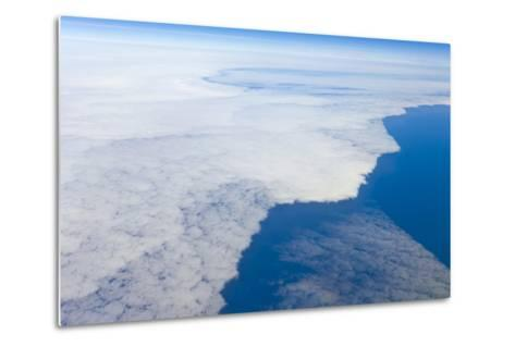 Aerial View of Clouds above Pacific Ocean near Chile-Momatiuk - Eastcott-Metal Print