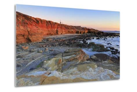 Low Tide, Cabrillo National Monument, Point Loma, San Diego, California, Usa-Richard Cummins-Metal Print