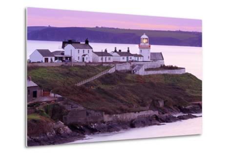 Roches Point Lighthouse, Whitegate Village, County Cork, Munster, Republic of Ireland, Europe-Richard Cummins-Metal Print