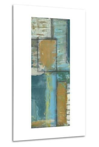 Quadrant Overlay II-Jennifer Goldberger-Metal Print