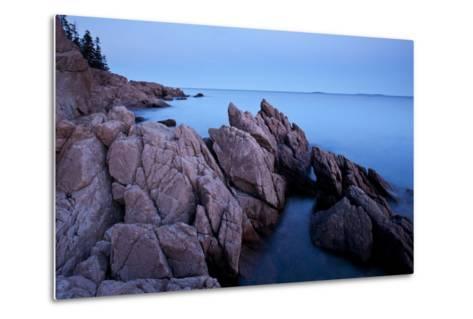Atlantic Coastline, Acadia National Park, Maine-Paul Souders-Metal Print