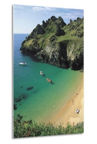 Devon Coast, England, United Kingdom-Duncan Maxwell-Metal Print