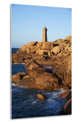Pointe De Squewel and Mean Ruz Lighthouse-Tuul-Metal Print