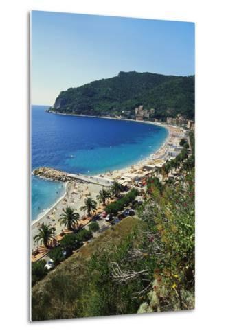 Beach Resort in Liguria, Italy-Sheila Terry-Metal Print