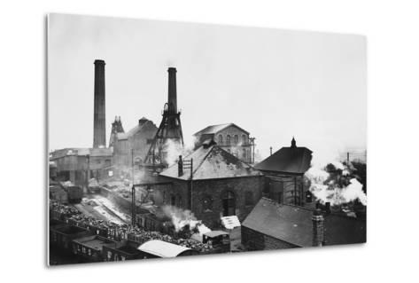 Pleasley Colliery in Derbyshire--Metal Print