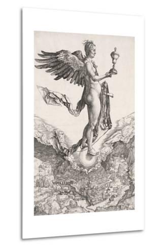 Nemesis-Albrecht D?rer-Metal Print