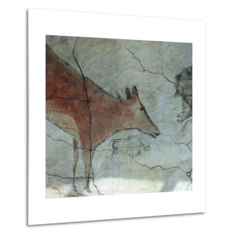 Replica of Cave Painting of Doe from Altamira Cave--Metal Print