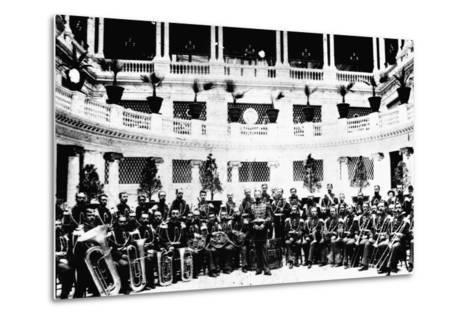 John Sousa and United States Marine Corps Band--Metal Print