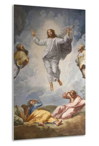 Raphael's Oil Painting of the Resurrection of Jesus Altar of the Transfiguration Altarpiece-Godong-Metal Print