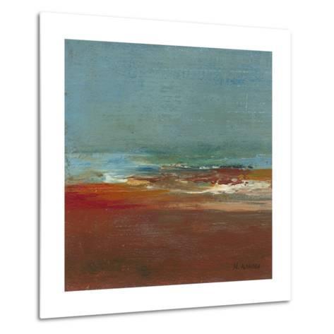 Sea Horizon I-W^ Green-Aldridge-Metal Print