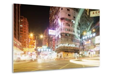 Neon Signs of Tsim Sha Tsui-Paul Souders-Metal Print
