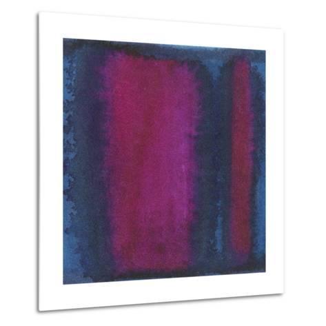Indigo Meditation I-Renee W^ Stramel-Metal Print