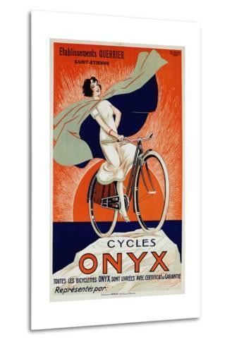 Onyx Cycles-Fritayre-Metal Print