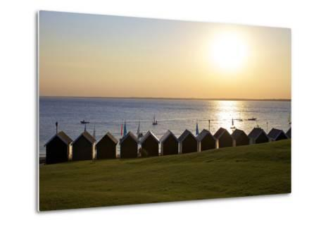 Gurnard Beach, Gurnard, Isle of Wight, England, United Kingdom, Europe-Neil Farrin-Metal Print
