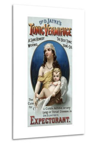 Advertisement for Dr. D. Jayne's Tonic Vermifuge--Metal Print