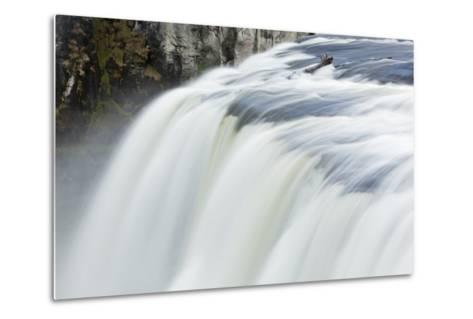 Upper Mesa Falls, Targhee National Forest-Paul Souders-Metal Print