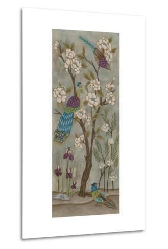 Gardenia Chinoserie I-Chariklia Zarris-Metal Print