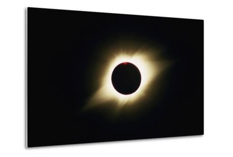 Solar Corona During Total Eclipse-Roger Ressmeyer-Metal Print