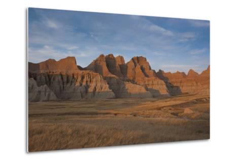 Badlands National Park, South Dakota, United States of America, North America-Michael Runkel-Metal Print