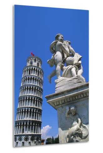 Leaning Tower of Pisa, Pisa, Italy-Hans Peter Merten-Metal Print