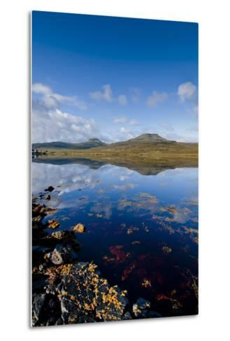 Craggy Seascape of Loch Dunvegan on the Isle of Skye-Charles Bowman-Metal Print