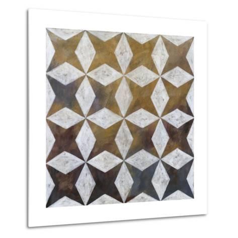 Royal Pattern I-Megan Meagher-Metal Print