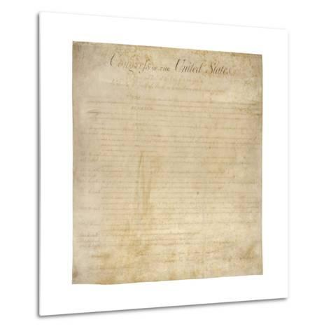 The Bill of Rights--Metal Print