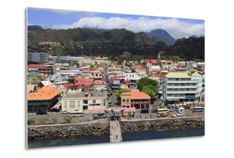 Downtown Roseau, Dominica, Windward Islands, West Indies, Caribbean, Central America-Richard Cummins-Metal Print