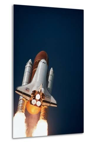 Launch of Space Shuttle Discovery--Metal Print
