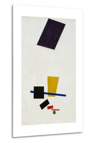 Painterly Realism of a Football Player ? Color Masses in the 4th Dimension-Kasimir Malevich-Metal Print