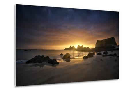 Morgat Sunrise-Philippe Manguin-Metal Print