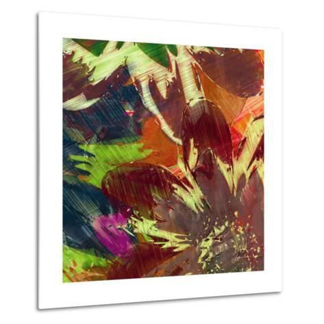 Floragraph IV-James Burghardt-Metal Print