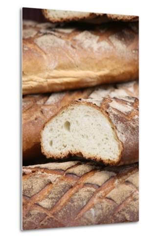 Bread, Provins, Seine Et Marne, France, Europe-Godong-Metal Print