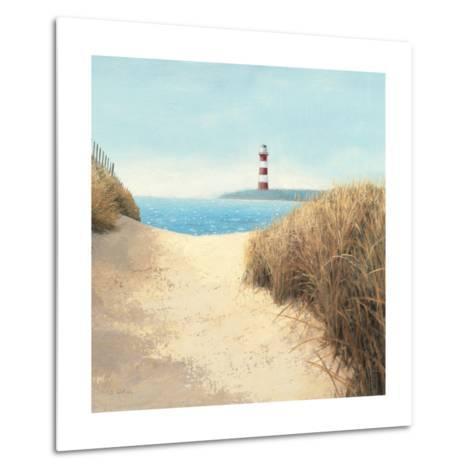 Beach Path Square-James Wiens-Metal Print