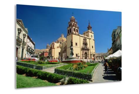 Baroque Basilica of Nuestra Senora De Guanajuato-Danny Lehman-Metal Print