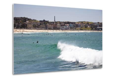 Bondi Beach, Sydney, New South Wales, Australia, Pacific-Mark Mawson-Metal Print