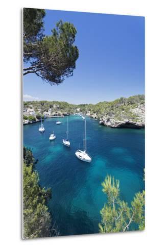 Bay of Cala Figuera, Majorca (Mallorca), Balearic Islands (Islas Baleares)-Markus Lange-Metal Print