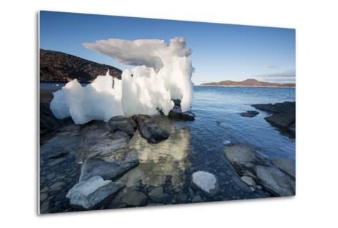 Melting Iceberg, Repulse Bay, Nunavut Territory, Canada-Paul Souders-Metal Print