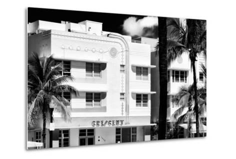 Art Deco Architecture of Ocean Drive - Miami Beach - Florida-Philippe Hugonnard-Metal Print