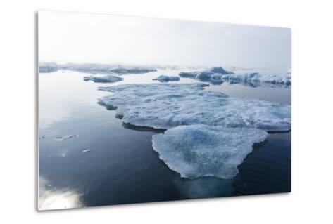 Melting Sea Ice, Repulse Bay, Nunavut Territory, Canada-Paul Souders-Metal Print