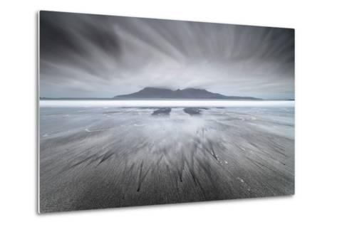 United Kingdom, Uk, Scotland, Highlands, Eigg Island, a Storm Approaching on Laig Bay-Fortunato Gatto-Metal Print