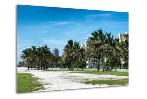 Miami Beach - South Beach - Florida-Philippe Hugonnard-Metal Print