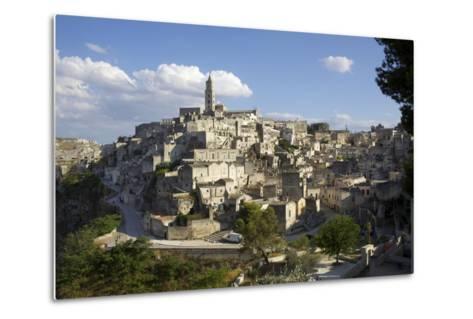 View of Matera from the Church, Matera, Basilicata, Italy, Europe-Olivier Goujon-Metal Print