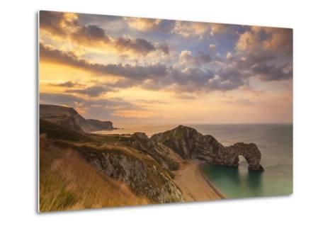Durdle Door, Lulworth Cove, Jurassic Coastdorset, England-Billy Stock-Metal Print