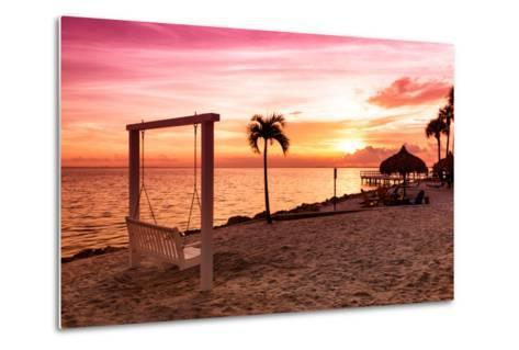 Swing at Sunset-Philippe Hugonnard-Metal Print