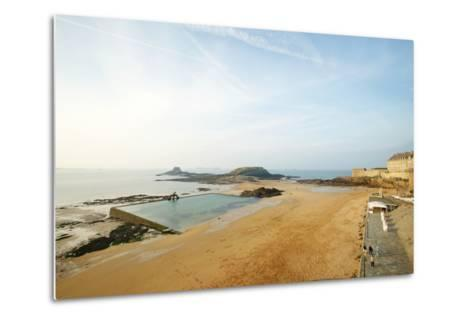 Old Town, St. Malo, France-Stefano Amantini-Metal Print