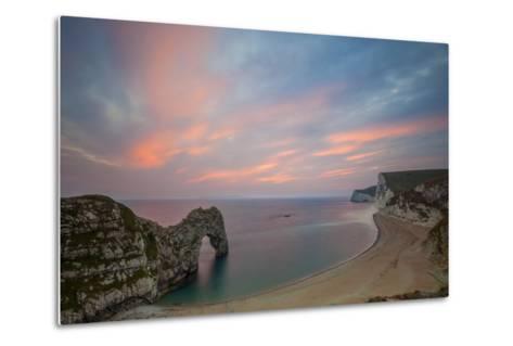 Durdle Door, Lulworth Cove, Jurassic Coastdorset, England-Billy Stock-Metal Print