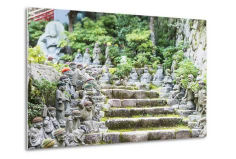 Statues in Daisho-In Buddhist Temple, Miyajima Island, Hiroshima Prefecture, Honshu, Japan, Asia-Christian Kober-Metal Print