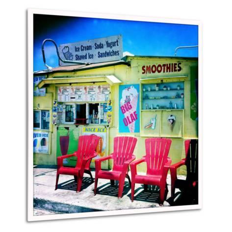 An Ice Cream Stand-Skip Brown-Metal Print