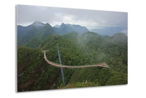 Skywalk, Gunung Machincang, Pulau Langkawi (Langkawi Island), Malaysia, Southeast Asia, Asia-Jochen Schlenker-Metal Print